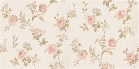 cream  pink floral wallpaper gallery