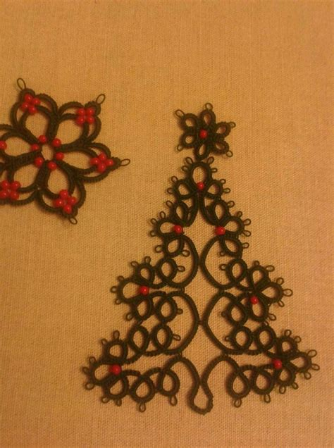 christmas tree tatting pattern 89 best ideas about tatting christmas on pinterest
