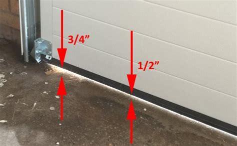 Garage Door Uneven Floor Seal Complete Guide For Choosing The Best Garage Door Seal