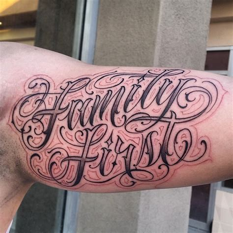 tattoo family lettering tattoo letras script cursive on instagram