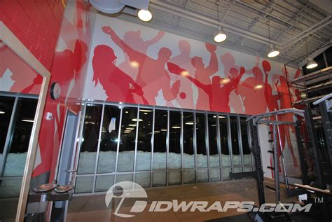 wallpaper for gym walls moravian academy fitness center school wall 3m vinyl wall