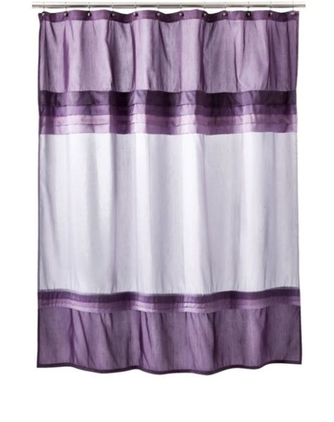 purple valance for bathroom purple shower curtain dream bathroom pinterest