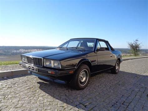car owners manuals for sale 1984 maserati biturbo regenerative braking 1988 maserati biturbo cabrio for sale car and classic