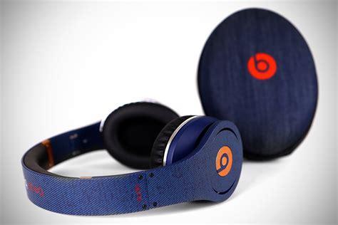 Limited Beats Studio Black limited edition denim beats by dre studio headphones