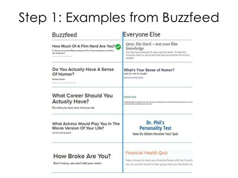 buzzfeed quiz how to make a buzzfeed quiz for your site
