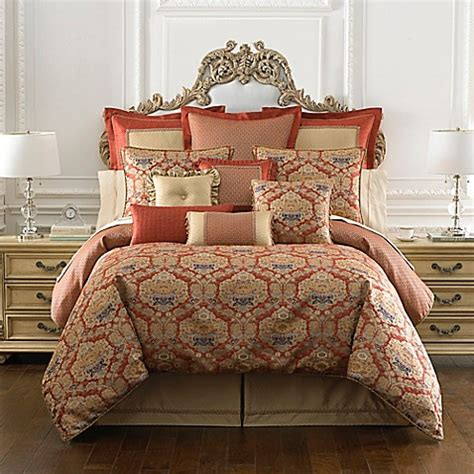 waterford comforter set waterford 174 linens olympia reversible comforter set in