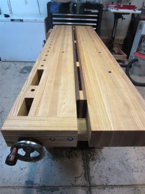 split top roubo bench wood split top roubo workbench pdf plans