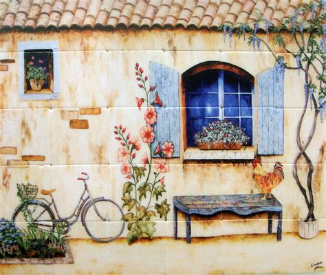 kitchen wall murals country kitchen backsplash tiles wall murals