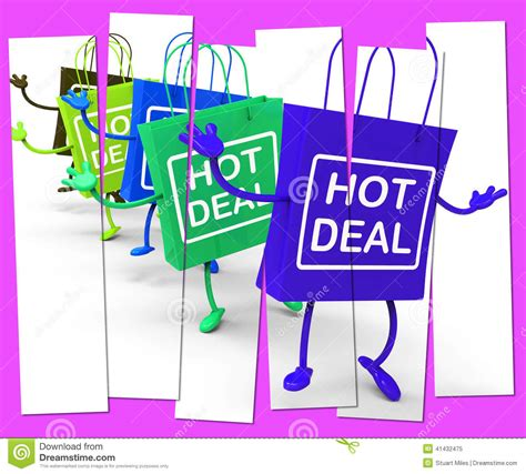 Shop Deals by Deal Shopping Bag That Shows Sales Bargains And