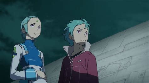 Eureka Seven Ao dvd review eureka seven ao part 2 animeblurayuk