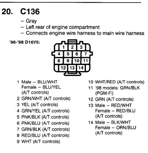 d15b wiring harness radio harness wiring diagram