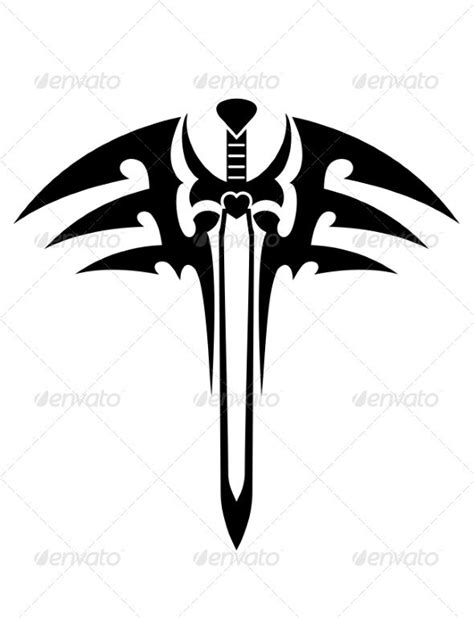 tribal tattoos knife 49 best logos images on coat of arms graphics