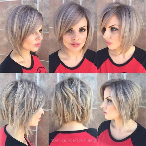best hairstyles for strong jawline 10 stylish short bob haircuts that balance your face shape