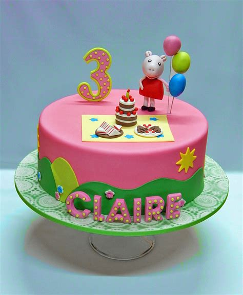 Peppa Pig Cake Decorations by Peppa Pig Cakecentral
