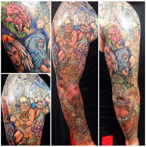 cartoon tattoo download download 80s cartoon tattoo sleeve danielhuscroft com