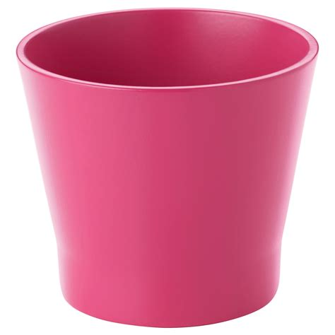 planter pot papaja plant pot dark pink 9 cm ikea
