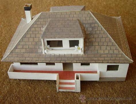 como hacer maquetas de madera maqueta en madera de casa chalet sanna comprar