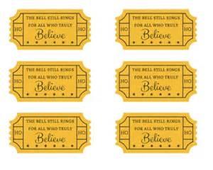polar express golden ticket template search results for polar express golden ticket free