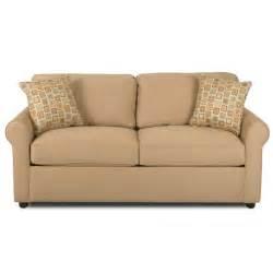 klaussner furniture brigthon dreamquest sleeper loveseat reviews wayfair