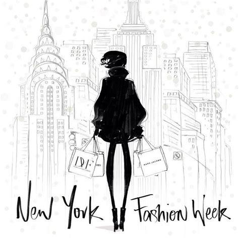 new york fashion week illustrated by megan hess illustrations