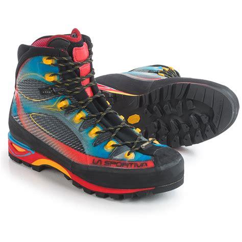 sportiva boots la sportiva tex 174 trango cube mountaineering boots