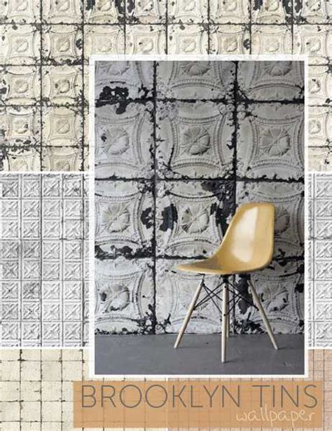 decor8blog beautiful wallpapers creating antique tin ceiling and