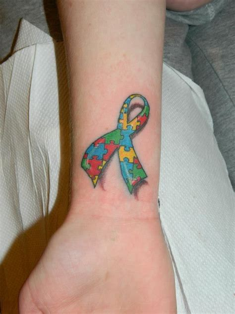 autism tattoo unique autism tattoos autistic ribbon by