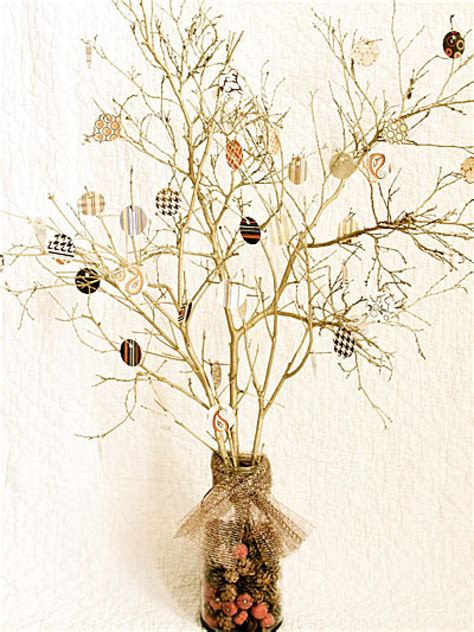 tree centerpiece thanksgiving tree centerpiece hgtv