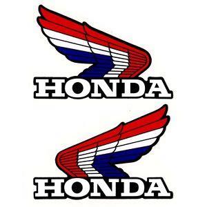 Honda Cy 50 Tank Aufkleber by Blue Red White Honda Wing Fuel Tank Sticker Decal Cbr