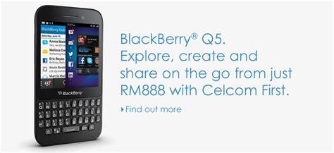 celcom menambah peranti blackberry q5 dan lg optimus g pro
