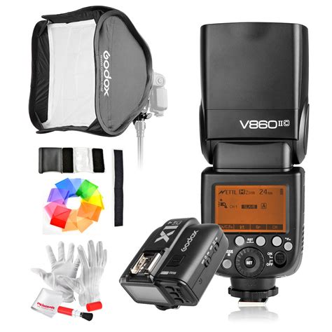 Softbox Kamera godox flash v860iic godox x1t c trigger softbox w s type bracket godox canada