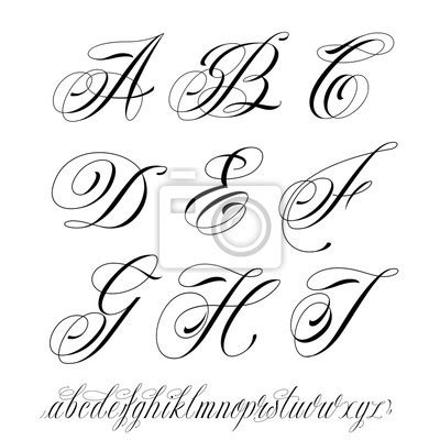 Calligraphie tatouage – Page 4 – My CMS H Alphabet In Style