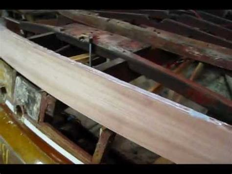 wooden boat bow laminated transom bow part 4 preview wooden boat