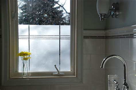 Bathroom Window Tint by Creating Privacy In The Bathroom With Window Daystar