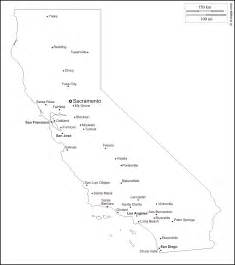 geography california outline maps