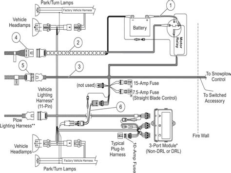 fisher 29070 1 snow plow wiring diagram fisher just