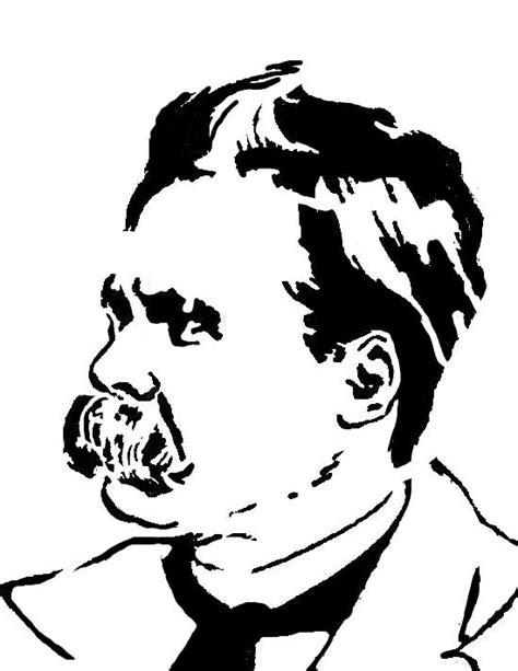 nietzsche stencil by conemrad1984 on deviantart