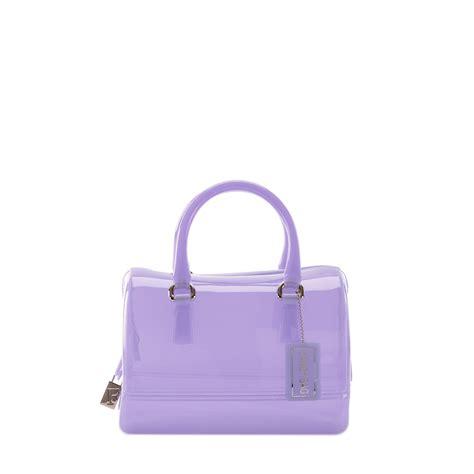 Furla Cardy furla satchel in purple mauve lyst
