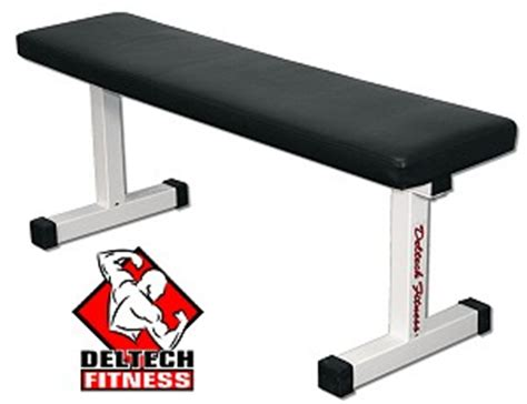 deltech fitness flat bench deltech flat weight bench