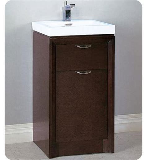 18 vanity with sink fairmont designs 110 v18 caprice 18 quot modern bathroom