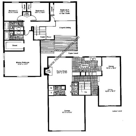 essex homes floor plans essex model in the deerpath subdivision in vernon hills