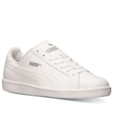mens casual sneaker s smash leather casual sneakers from finish line