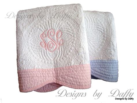 Monogrammed Baby Quilts by Monogrammed Baby Quilt On Storenvy