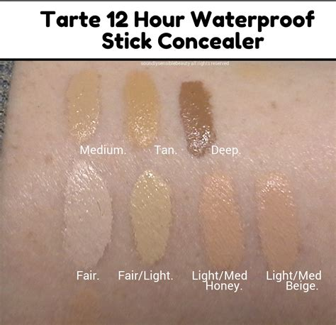 light medium honey tarte shape tarte amazonian clay 12 hour waterproof concealer stick