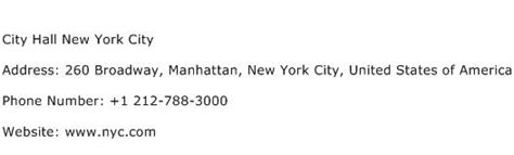 New York Address Lookup City New York City Address Contact Number Of City New York City