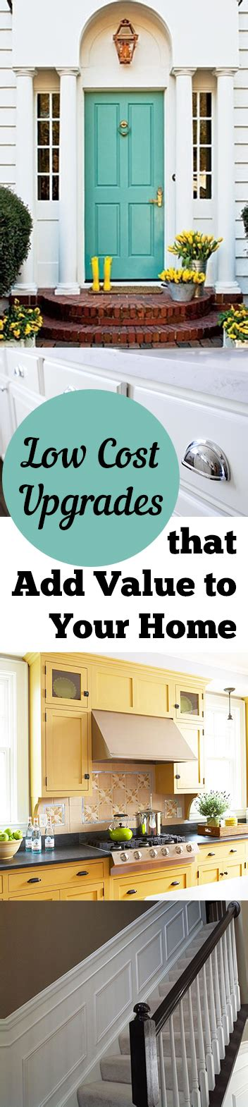 low cost upgrades that add value to your home the doors