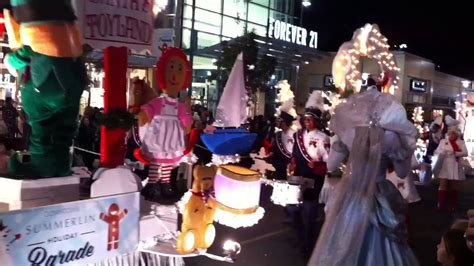 downtown summerlin holiday parade youtube