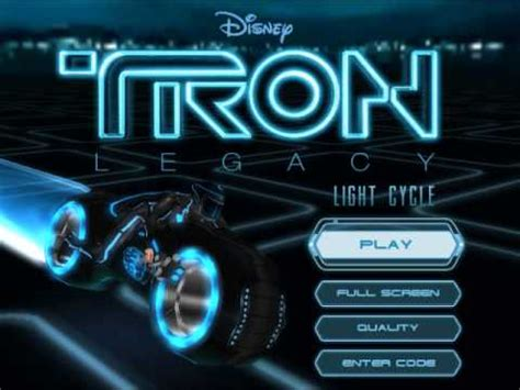 tron legacy light cycle game music clu s highway youtube
