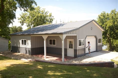 building house cost metal buildings living quarters house plans