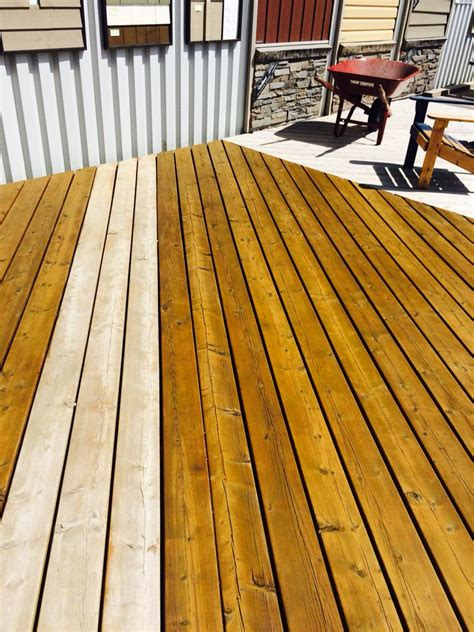 superdeck semi transparent cedar deck stain  coat true